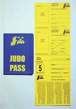 Judopass 30 sidors